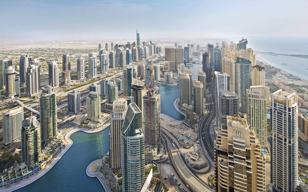 Dubai landscape photography