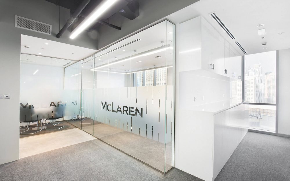 McLaren Office photography in Dubai