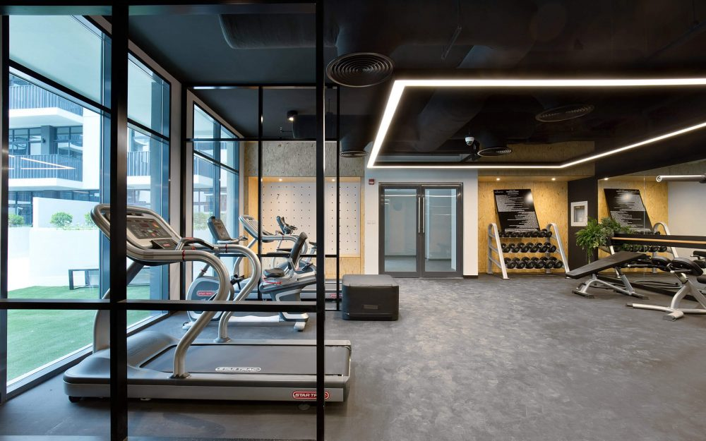 Corporate gym photography in Dubai